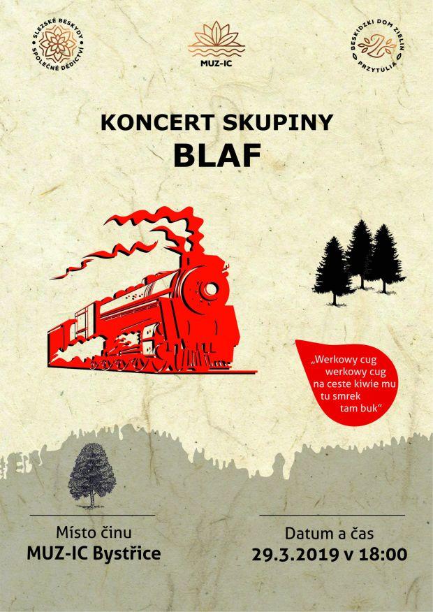 Koncert skupiny Blaf - 29. 3. 2019