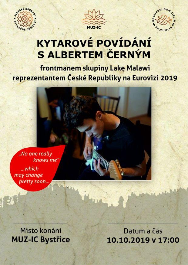 Kytarové povídání s Albertem Černým - 10. 10. 2019