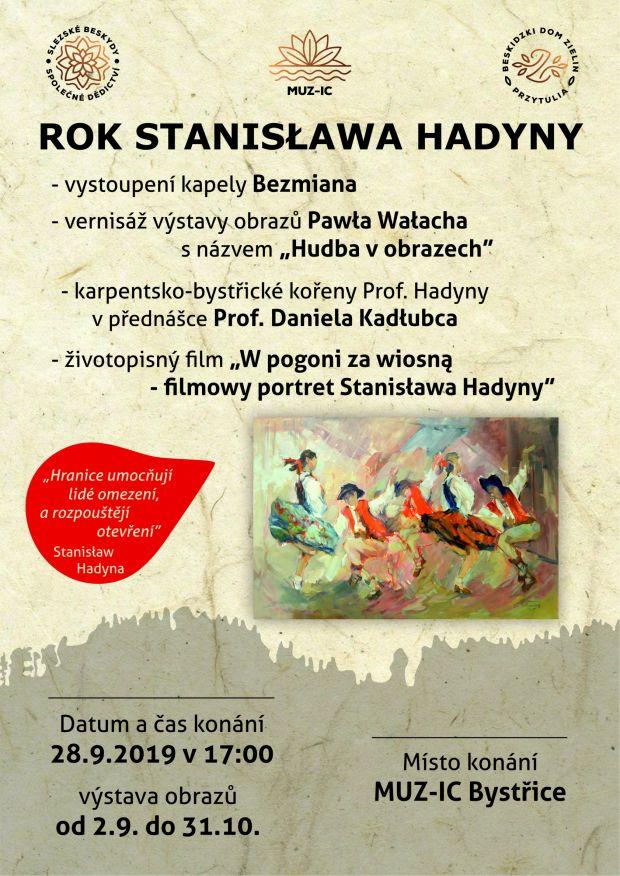 Rok Stanisława Hadyny - 28. 9. 2019