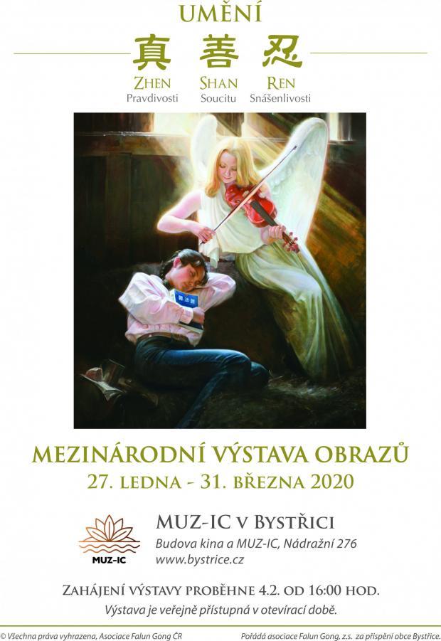 Výstava obrazů s názvem Pravdivost, soucit a snášenlivost v umění - 4. 2. 2020